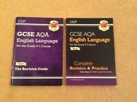 GCSE AQA English Language Revision and Practice Guide x 2