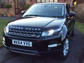 Land Rover Range Rover Evoque 2.2 SD4 Pure Tech AWD, Panoramic Sunroof, Metallic Black