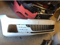 2015 ONWARDS VW SCIROCCO GTI GT LINE R LINE FACELIFT NEW SHAPE FRONT BUMPER GENUINE
