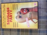 Sausage party DVD and free digital download