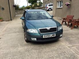 Skoda Octavia estate in Excellent Condition only used for private use