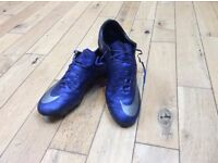 Nike mercurial CR7's ACC size 8.5 electric blue