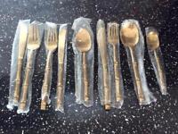 Solid Bronze Cutlery Set