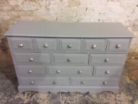 Shabby chic large drawers