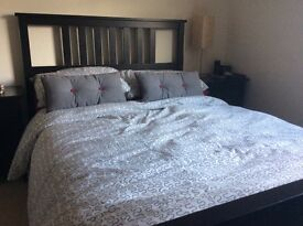 Ikea Hemnes Double Bed and Mattress