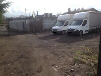 PARKING/STORAGE/VANS/LORRY/MINI BUS/OPERATOR CENTRE/BOAT/TRAILER/JCB/CONTAINER WORKSHOP
