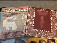 Thin lizzy and steppenwolf lps in vcg