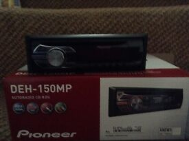 Brand new pioneer car stereo