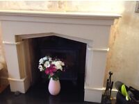 Fire surround marble