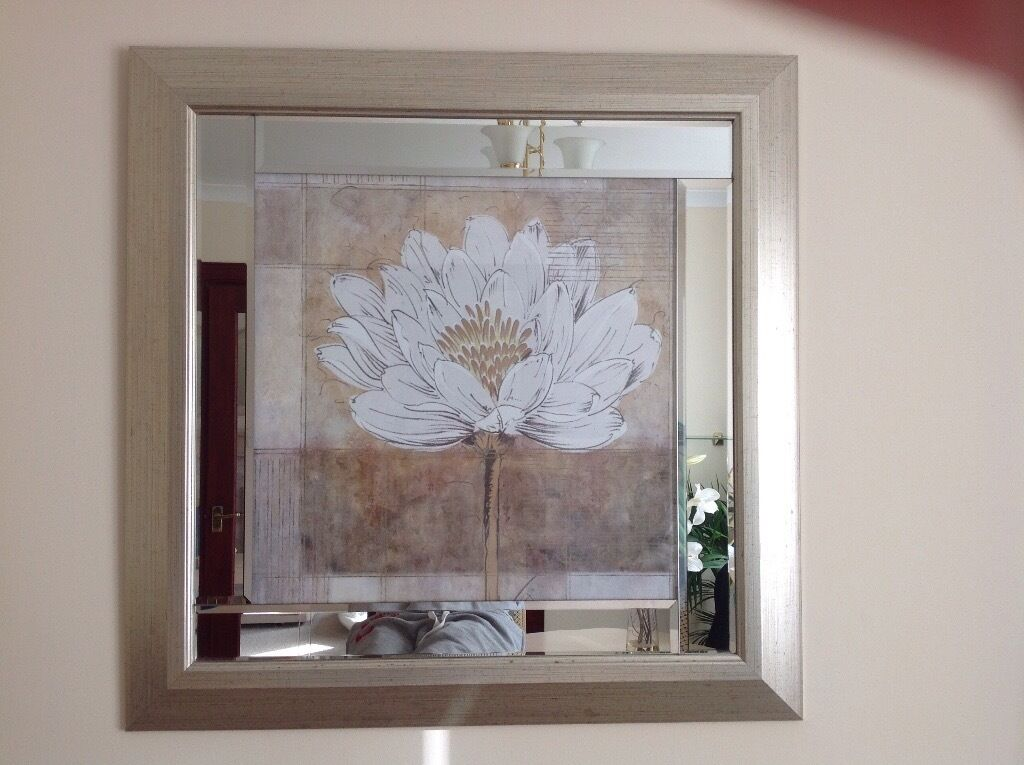 Large Picture Mirror From Pagazzi