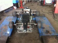 Go kart gokart BIESSE KART RACE CIK FIA with brand new tyres £320 ono