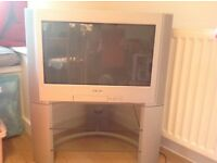 "Excellent condition Sony Trinitron 32"" digital TV & stand"