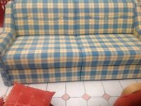 King size sofa bed in very good condition hardly used Only selling as I need space