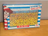 Where's Wally and Big Ben Jigsaw puzzles
