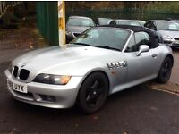 Superb Low Mileage Z3 BMW, Only 78k, Full British Racing Green Leather, Enormous Service History
