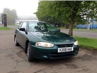 Mitsubishi Colt 1.6 GLX Automatic full year mot cheap reliable automatic runabout
