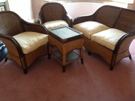 4 piece sitting room furniture set for sale