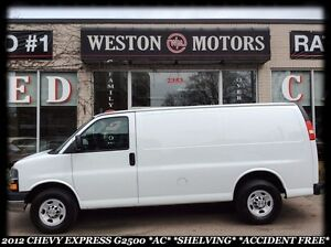 2012 Chevrolet Express G2500 *AC *SHELVING *ACCIDENT FREE!!!