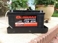 Oldham Leisure Marine Battery 110ah