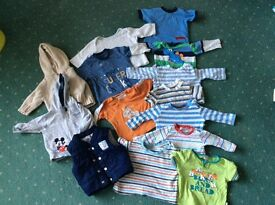 0-3 month baby boy tops