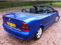 2004 VAUXHALL ASTRA 1.8 COUPE CONVERTIBLE **FULLY ELECTRIC ONE TOUCH ROOF**