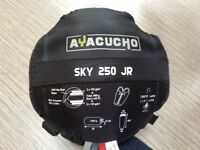 Ayacucho Sky 250 Junior sleeping bag & stuff sack, £10 ono