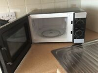 Microwave by Tesco - Model MMBS 14 - still current model - 13 months