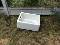 Old butler sink ideal planter