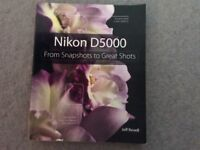 Nikon D5000 book by Jeff Revell