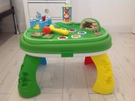 In the night garden explore and learn activity table