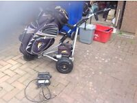 Electric golf trolley Powecaddy