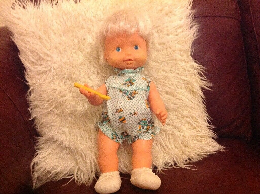 Vintage 1970s Doll & Accessories