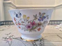 Royal Stafford Bone China Floral Sugar Bowl. Bideford.