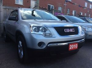 2010 GMC Acadia 8 Passengers NoAccidents Power Opt Well Maintain