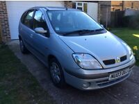Renault Scenic 1.6 auto expression 2003 60600 miles in daily use but mot expires on 09/04/17