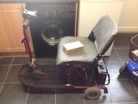 ULTRALITE 355 CAR BOOT SIZED MOBILITY SCOOTER CARRIES 16 STONE UP TO 8 MILES ON FULL CHARGE