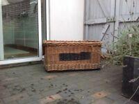 Vintage storage basket
