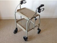 4 Wheel Combination Trolly - Brand New - Beige