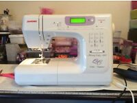 JANOME MEMORY CRAFT 4800 SEWING MACHINE