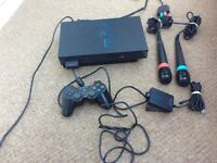 Sony Play Station 2 (PS2) Console + Games + Accessories