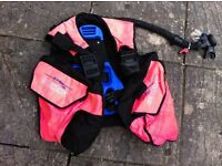 Scuba diving equipment (incl. BCD, regs, drysuit, weight belt & fins)