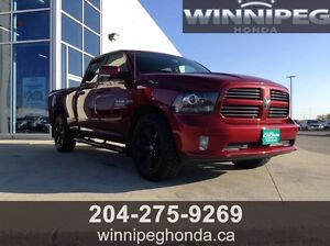 2015 Dodge Ram Sport. One owner, Local Manitoba trade, Mint con