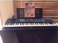 Yamaha PRS190 Electronic Keyboard - 61 keys