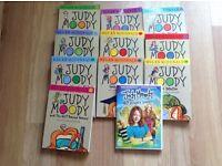 10 Judy Moody books +1 DVD
