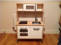 Mini kitchen and play set used