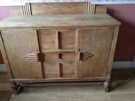 Scottish co/operative, manufactured at shielhall, sideboard/cabinet