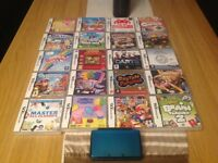 Nintendo3ds with 20 games