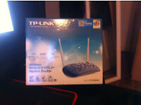Selling: TP-Link 300 Mbps Wireless N ADSL2 + Modem router (Warranty Included)