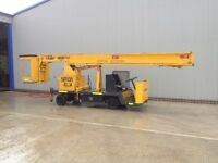 cherry picker man lift cherry picker body cherry picker lorry tow behind mixer
