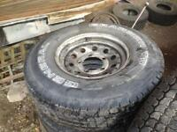 Land Rover tyres and rims
